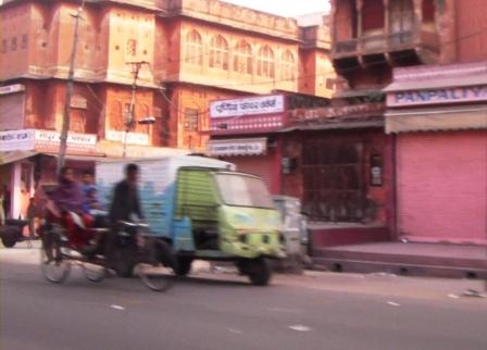 ピンクシティの街並み インド