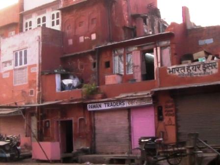 ピンクシティの街並み インド 2