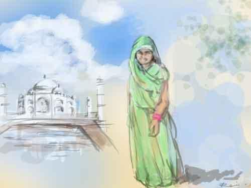 インド旅行~女一人旅 旅日記