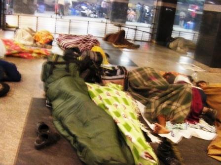 ホームレス インド