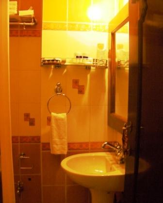 ウメイド・マハル・ホテル お部屋 バスルーム